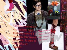 Maison d'Avril / Marketing du style: Vintage couleurs de vineux ce sera en 2013
