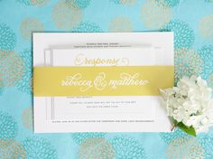 Shine Wedding Invitations has their finger on the pulse of pretty, pretty wedding paper. So no wonder theyre a go-to for everything from wedding invitation suites, save the dates, programs and so much more. Their collection of simple, elegant + modern designs, all printed on their signature white shimmer card stock, will make sure the…