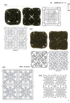 View album on Yandex. Crochet Edging Patterns, Crochet Motif, Crochet Flowers, Crochet Stitches, Flower Patterns, Knitting Patterns, Crochet Edgings, Crochet Diagram, Crochet Cross