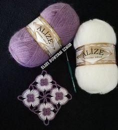 Crochet Baby Dress Pattern, Crochet Slipper Pattern, Crochet Diagram, Crochet Slippers, Crochet Motif, Crochet Flowers, Knit Crochet, Knitted Baby Clothes, Angora