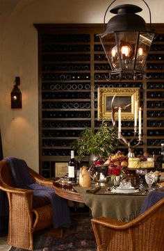 Lavish Wine Country entertaining by Ralph Lauren Home