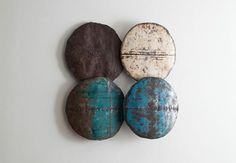 Phillips Collection - Stand Out Glavanize, 4 pieces Phillips Collection, House Accessories, Steel Wall, Winter House, Work Inspiration, Galvanized Steel, Wall Sculptures, Dining Area, Exploring