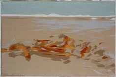 Julie Paul Coalmine Creek: washout 52.5 x 82.5 cm