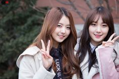 PLEDIS GIRLZ - Im NaYoung 임나영 &Kim MinKyung 김민경 #플레디스걸즈