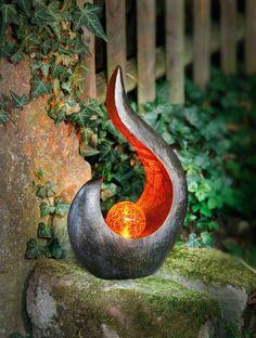 "Solar Figur ""Schildkröte"" Garten Deko LED Aussen Lampe Strahler Skulptur"