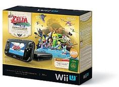 Nintendo The Legend of Zelda: Wind Waker HD Wii U Limited Edition Bundle - Movies Music & Gaming - Wii - Wii Consoles