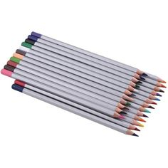 Ohuhu 24-color Colored Pencils/ Drawing Pencils for Sketch/Secret... ($12) ❤ liked on Polyvore featuring art supplies