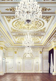 State Hermitage Hotel in St Petersburg, Russia ... very ornate, glamorous & grand! The hotel is housed in a building that had been left to decay over the years ... the interiors have been transformed and restoration.