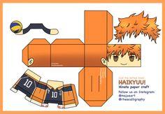 Anime Crafts, Paper Crafts Origami, Hinata, Paper Doll Template, Instruções Origami, Japon Illustration, Anime Figurines, Anime Dolls, Paper Toys
