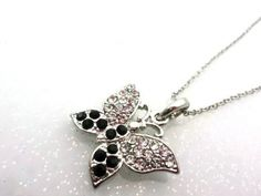 Fashion New Bowtie Rhinestone Necklace on BuyTrends.com, only price $3.45