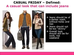 Casual Friday Dress Code Defined