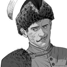 Awsome Wołodyjowski by Marianna Strychowska Rose Quartz Steven, Character Inspiration, Character Design, Colonel, Art Tips, Look Cool, Wearable Art, Art Pieces, Sword