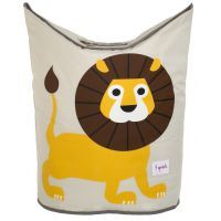 3 Sprouts Laundry Hamper Yellow Lion www.mamadoo.com.au #mamadoo #storage #kids