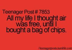#teenagerposts I know right!