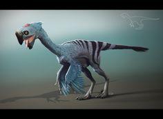 Oviraptor Nemegtomaia - Shaka-zl