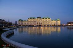 Christmas lights at the Belvedere castle, Vienna, Austria Vienna Austria, Christmas Lights, Dreaming Of You, Castle, World, Building, Travel, Christmas Fairy Lights, Viajes