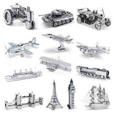 3d laser cut metal mini model puzzle #jigsaw big ben #tower #bridge titanic ,  View more on the LINK: http://www.zeppy.io/product/gb/2/221810060140/