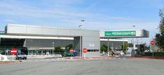 Fachada do terminal Buquebus em Colônia do Sacramento, no Uruguai.