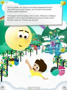 Creativity abounds in this fun app book! Explore the magical Balloon Kingdom with Casper