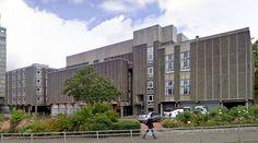 Mathematics Building (University of Glasgow) - 1969 by Dorward, Matheson, Gleave and Partners - #architecture #googlestreetview #googlemaps #googlestreet #uk #glasgow #brutalism #modernism