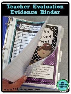 Organizing Teacher Evaluation Evidence {Paper Organization in the Classroom Danielson Framework & Massachusetts Model for Educator Evaluation}