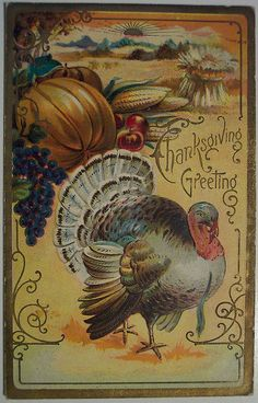 Old Thanksgiving Post Card