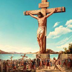¿Cuál es la diferencia entre las palabras expresadas por el Señor Jesús en la Era de la Gracia y las palabras expresadas por Dios Todopoderoso en la Era del Reino? #IglesiadeDiosTodopoderoso #Revelación #Juicio #Cordero #MisteriosDelaBiblia #ReligiónChina #NombreDeDios #ElHijoDeDios #ElhijodelHombre  #LosÚltimosDías #LaVidaEterna Jesus On The Cross, Jesus Cristo, Praise The Lords, Les Oeuvres, Forgiveness, Decir No, Christ, Faith, Statue
