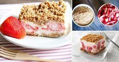 Pastel helado de fresas ¡sin harinas ni cocción!>> http://www.labioguia.com/notas/pastel-helado-de-fresas-sin-harinas-ni-coccion