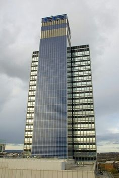 Week 9. Here is the first skyscraper in the world which is covered with solar panels. The roof of the building holds more than 20 wind turbines. The building is the great example how architecture can be sustainable.