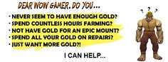 Want more gold?