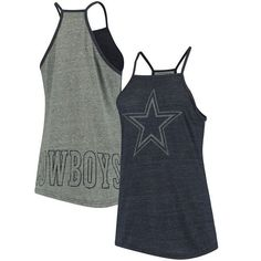 Women's Navy Dallas Cowboys Leighton Tank Top https://www.fanprint.com/stores/teeshirtstudio-fut?ref=5750