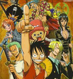 carteles alma nami luffy zoro usuff sanji chopper robin franky brook one piece… One Piece Anime, Read One Piece Manga, Sanji One Piece, Watch One Piece, Anime Dvd, Fan Anime, One Piece Personaje Principal, Chopper, One Piece Crossover