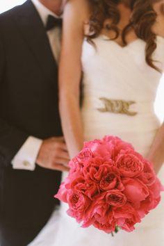 Fotos de buquê de noiva vermelho