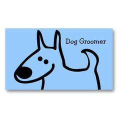 16 best dog grooming business cards images on pinterest dog dog grooming business cards solutioingenieria Choice Image