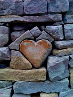 Wall...heart. This looks like something my DH would do. <3