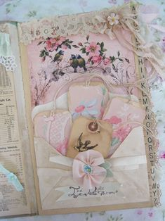 You may remember that I mentioned that I am participating in a round robin journal that Lori is hosting? The theme is paper dolls. I already posted a few of these pages but wanted to show you all of them. Fabric Journals, Journal Paper, Scrapbook Journal, Art Journal Pages, Junk Journal, Art Journals, Journal Ideas, Journal Inspiration, Journal Sample