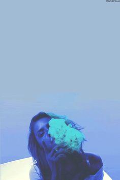 Blue Girl - http://www.marijuanachick.com/blue-girl/