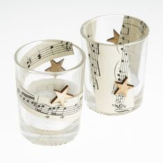 In with the Old: Music Paper Tea Light Holde
