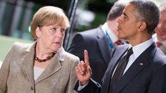 Xαλινάρι Ομπάμα στη φράου Μέρκελ - Media