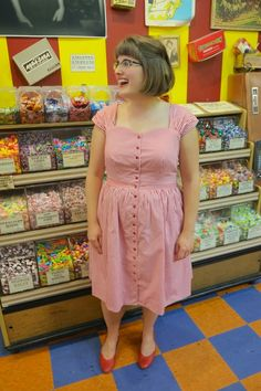 Rosie Wednesday: Adventures in Vintage-Style Sewing: Button-Down Cambie Dress by Sewaholic Patterns