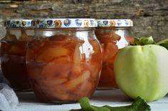 Jabłka w słoikach 3x5 minut - niebo na talerzu Salsa, Jar, Vegetables, Food, Essen, Vegetable Recipes, Salsa Music, Meals, Yemek