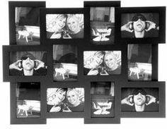 Black Collage Photo Frame from Red Candy