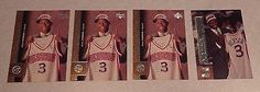awesome Allen Iverson 96-97 Upper Deck Rookie #91 & TSC #SM15 4 card lot Rc - For Sale View more at http://shipperscentral.com/wp/product/allen-iverson-96-97-upper-deck-rookie-91-tsc-sm15-4-card-lot-rc-for-sale/
