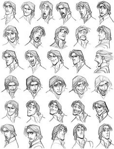 Drawing cartoon faces, drawing expressions и disney concept art. Drawing Cartoon Faces, Cartoon Drawings Of People, Drawing People, Cartoon Guy, Drawing Cartoons, Cartoon Ideas, Facial Expressions Drawing, Cartoon Expression, Expression Sheet