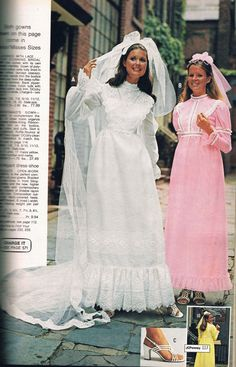 How Much to Dry Clean Wedding Dress Fresh Jcpenney Wedding Dresses Bridal Gowns Best Jcpenney 1970s Wedding Dress, Best Wedding Dresses, Bridal Dresses, Wedding Gowns, Bridesmaid Dresses, Vintage Wedding Photos, Vintage Bridal, Vintage Outfits, Vintage Dresses