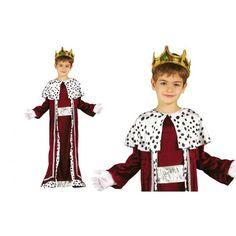 King's Robe Children Wise Man Nativity Christmas Fancy Dress 3 Reyes, Boys Fancy Dress, Christmas Fancy Dress, Wise Men, Pli, Nativity, King, Costumes, Children
