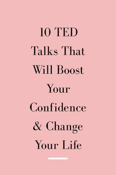 TED talks to make you feel confident! These TED talks on mental health will help you feel confident as a parent and will change your life. Inspirational Ted Talks, Self Confidence Tips, Confidence Building, Best Ted Talks, Self Care Activities, Stem Activities, Marca Personal, Self Development, Leadership Development