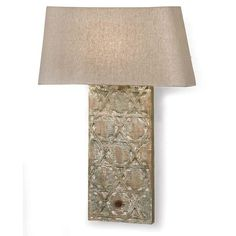 Artifact wall sconce by Regina Andrew. http://shopcandelabra.com/regina-andrew-artifact-wall-sconce.html