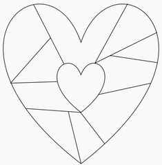 Doodle Patterns, Heart Patterns, Quilt Patterns, Heart Coloring Pages, Coloring Pages For Kids, Drawing For Kids, Art For Kids, Mixing Paint Colors, Mindfulness Colouring