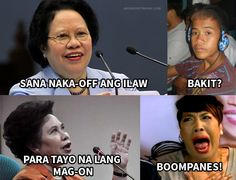 Top 20 Pickup Lines of Senator Miriam Defensor Santiago